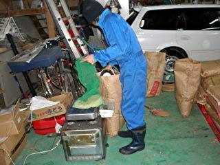 魚沼産コシヒカリの種子の袋詰5kg